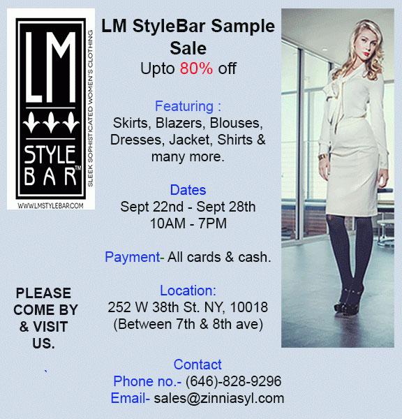 LM StyleBar Sample Sale