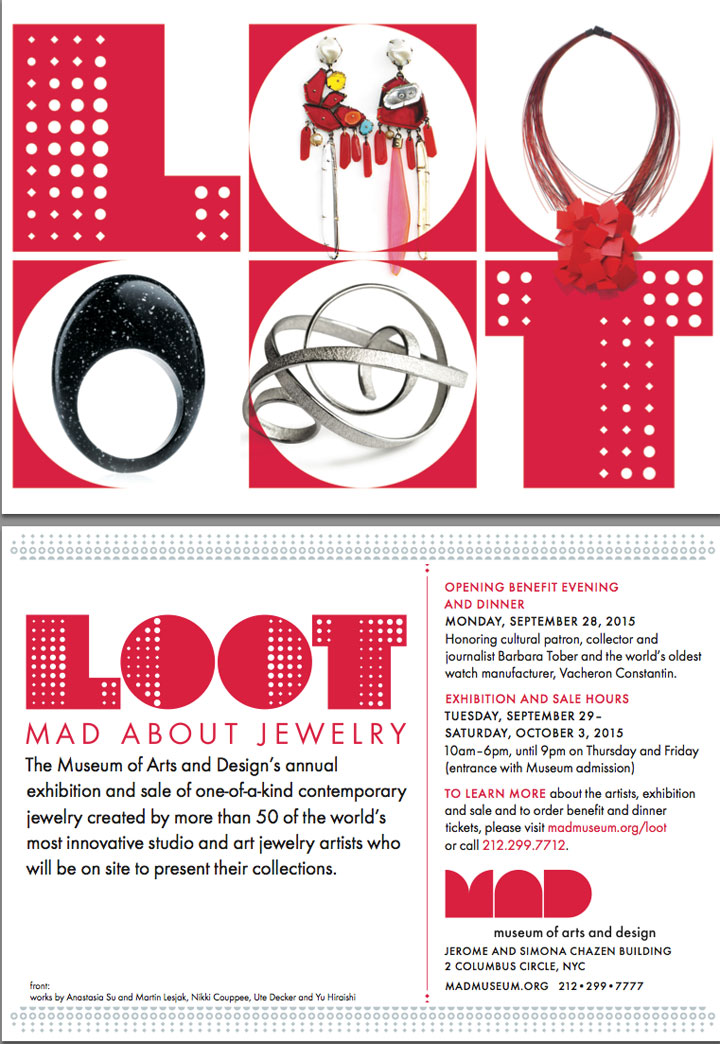 LOOT 2015: Mad About Jewelry Event
