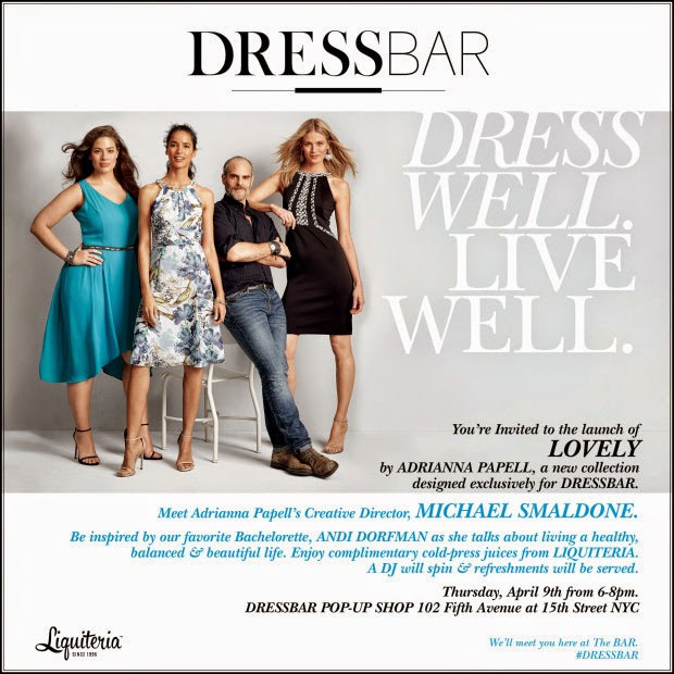 LOVELY by Adrianna Papell Launch Event at DRESSBAR