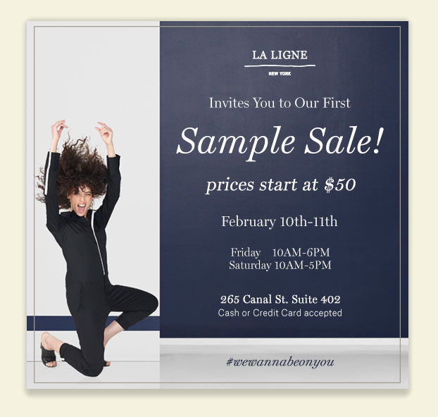 La Ligne Sample Sale