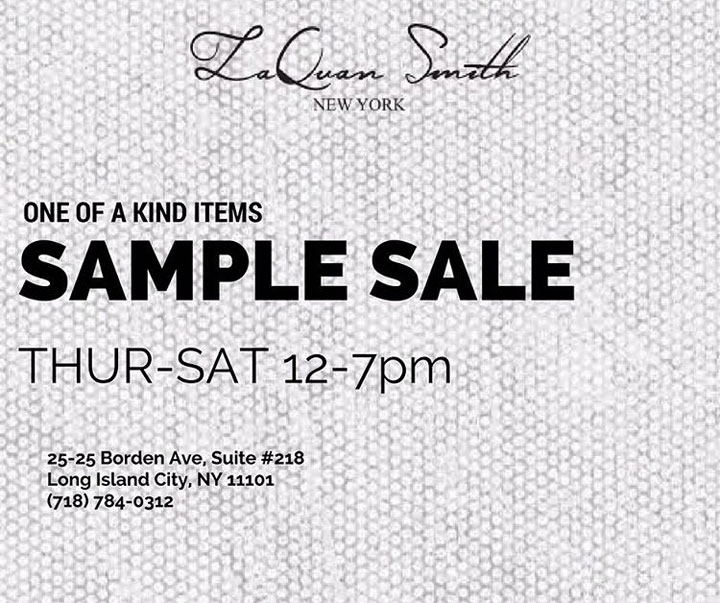 LaQuan Smith Sample Sale