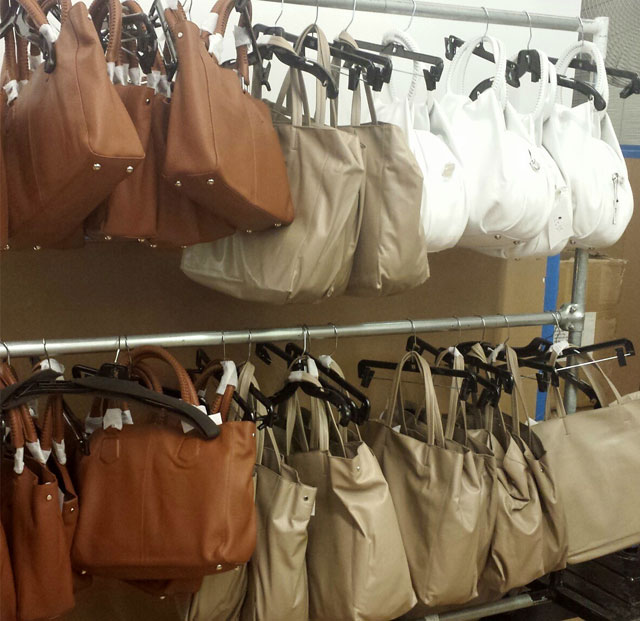Handbags for $125 at the Lafayette 148 New York Fall 2013 Warehouse Sale
