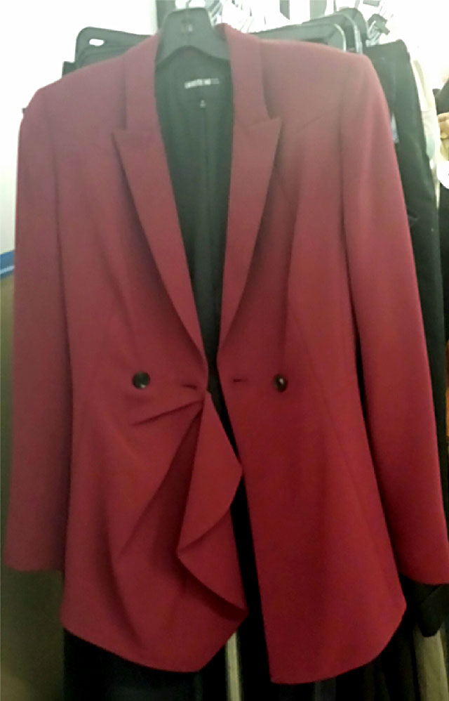 Jackets for $80, Coats as marked
