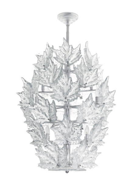 Lalique Champ Elysee Chandelier