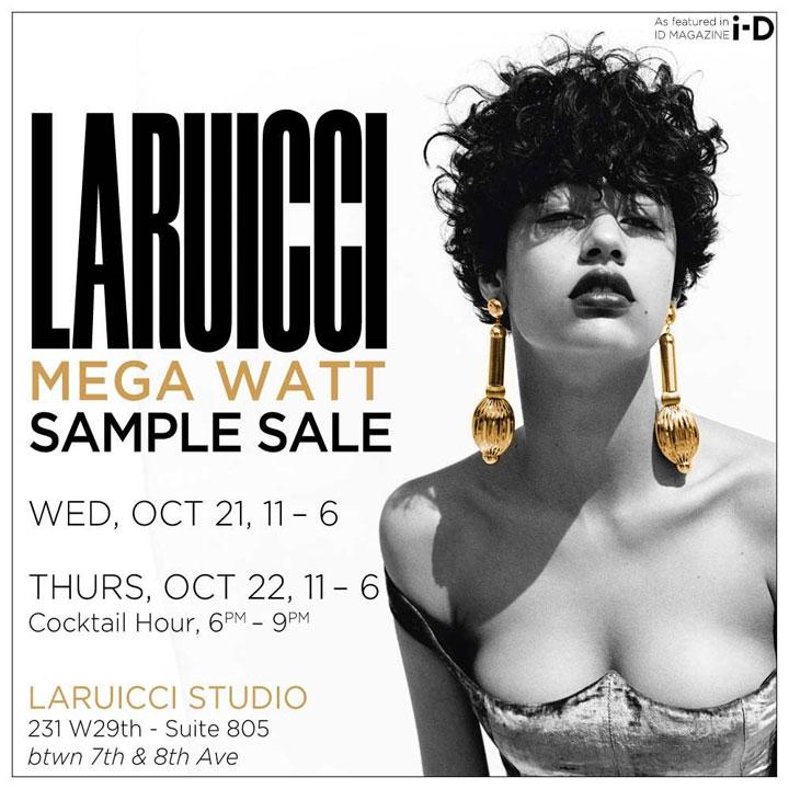 Larucci Sample Sale