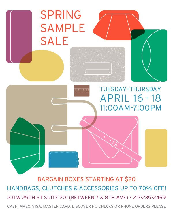 Lauren Merkin Spring Sample Sale