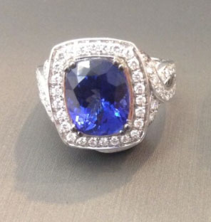 Le Vian: Sapphire and diamond ring