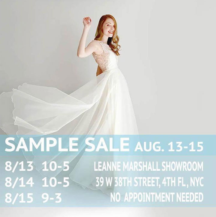 Leanne Marshall Sample Sale
