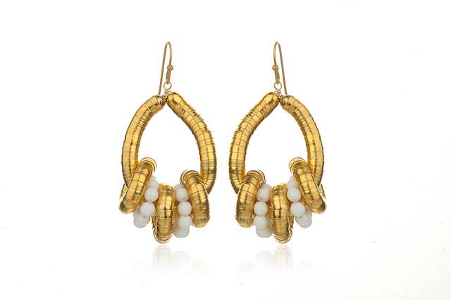Lee Angel Loop Earrings