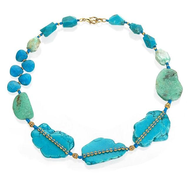 Lee Angel Turquoise Bracelet