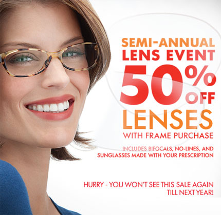 The cost of an eye exam is excluded. AARP Vision Discounts are administered by EyeMed Vision Care (EyeMed). These are not insurance programs and may be discontinued at any time. Cannot be combined or used in conjunction with any vision care or insurance benefits or plans, any store or other offer, discount or sale, previous purchases, or readers.