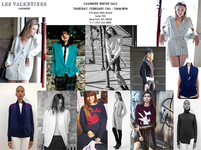 Les Valentines Cashmere Winter Sale