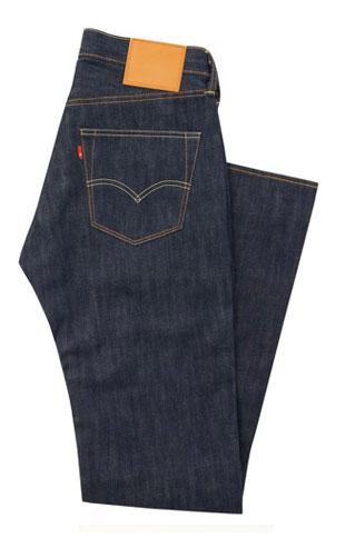 LEVI'S  No Noise 501 straight-leg jeans