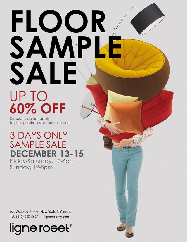 Ligne Roset SoHo FloorSample Sale