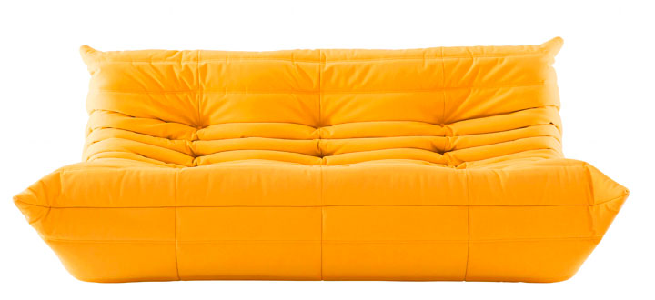 Togo sofa by Michel Ducaroy, originally $5,815, sale price $2,349