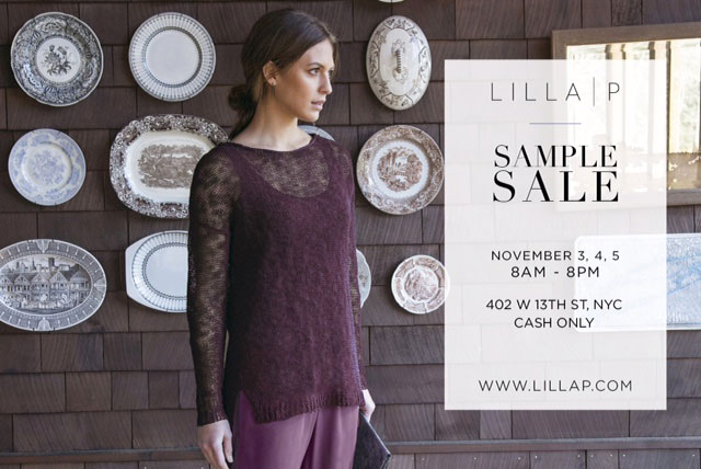 Lilla P Sample Sale