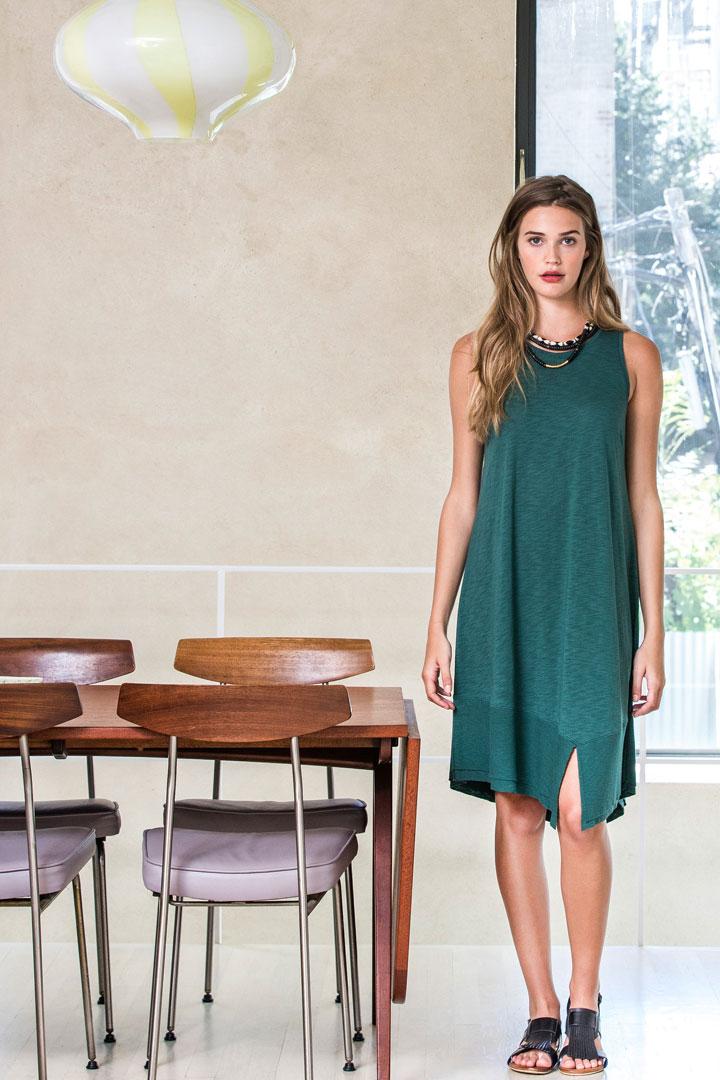 Lilla P Rib Bottom Tank Dress, originally $128, sale price $50