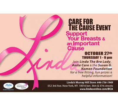 Linda's Care For The Cause Event: 10/27