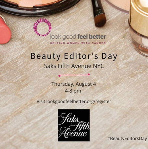 Look Good Feel Better National Beauty Editors Day
