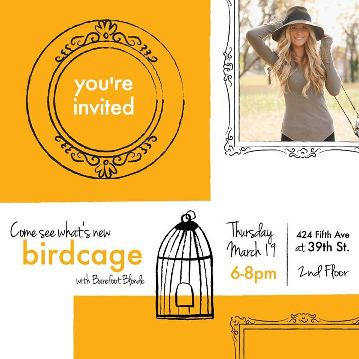 Lord & Taylor Birdcage Spring Launch