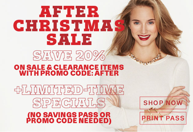 Lord & Taylor After-Christmas Sale