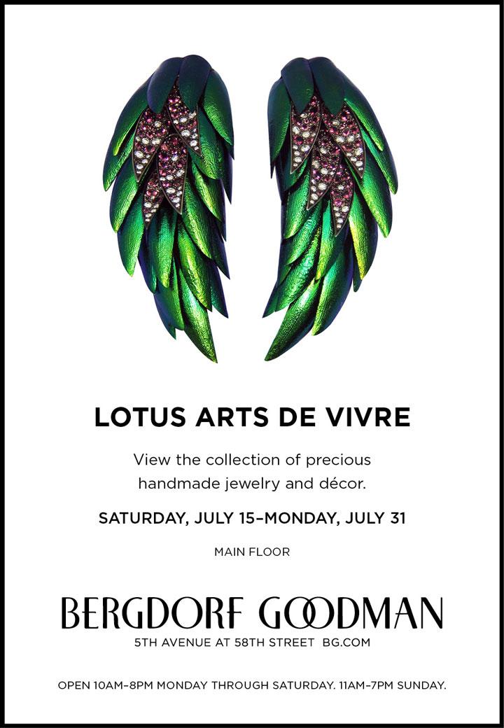 Lotus Arts De Vivre Trunk Show
