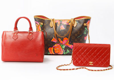 Starting April 13th at 11 a.m. on RueLaLa: Handbags by Louis Vuitton & More