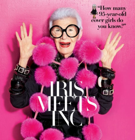 Macy's Presents Fashion's Front Row with Iris Apfel
