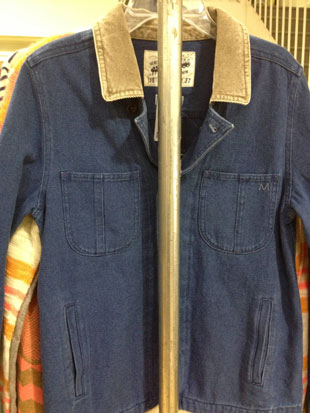 Madewell's Denim and Corduroy Denim Jacket ($40, Small)