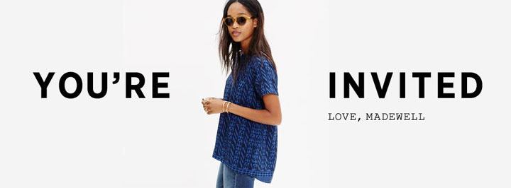 You're Invited: Madewell Fifth Ave + Brilliant Bikes