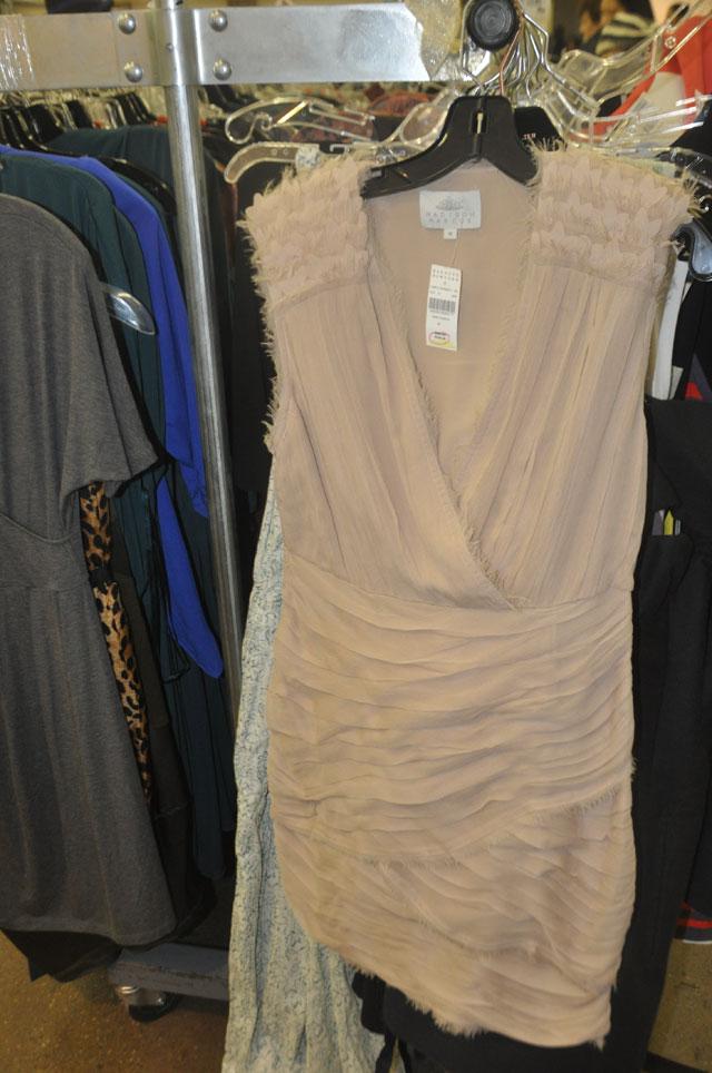 Madison Marcus Beige Cocktail Dress ($235, orig. $363)
