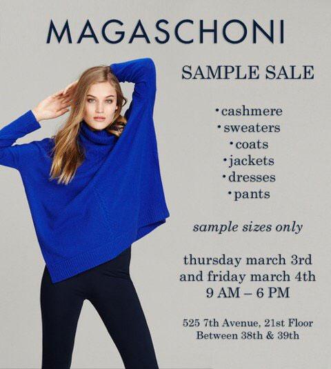 Magaschoni Sample Sale