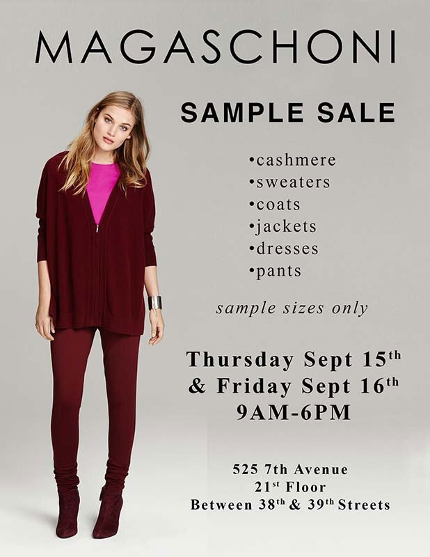 Magaschoni Sample Sale