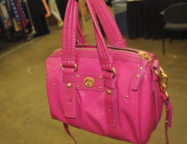 Magenta Marc by Marc Jacobs handbag was $378