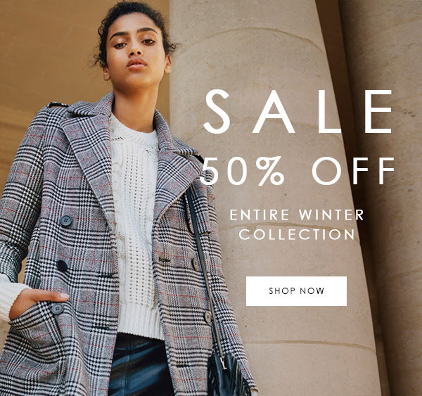 Maje Winter Retail Sale