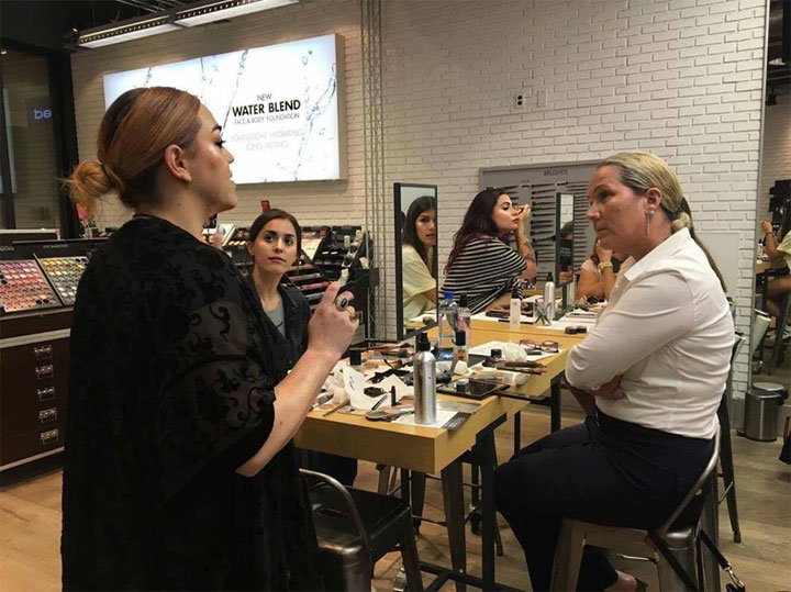 Make Up For Ever Beauty Event