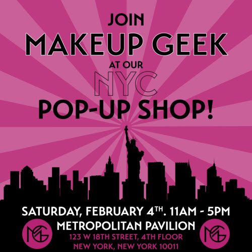 Makeup Geek Pop-Up Shop