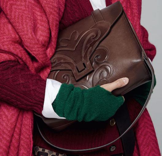 Maliparmi Embossed Leather Bag: $370 (orig. $710)