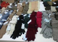 Cashmere winter accessories by Malo