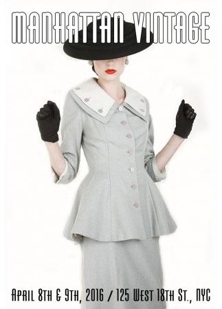Manhattan Vintage Clothing Sale & Show