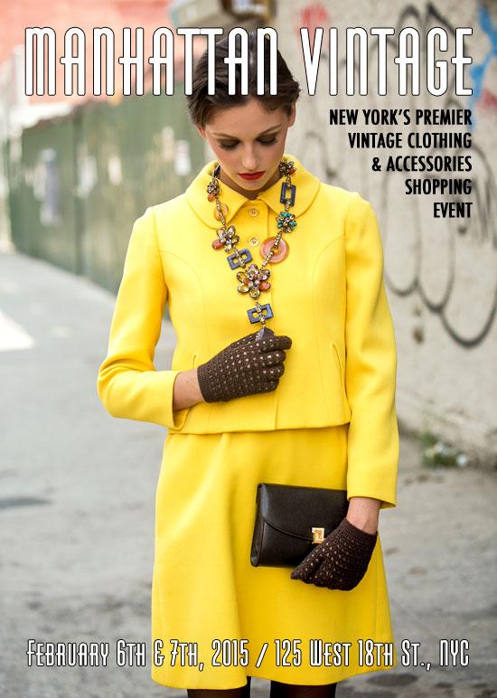 Manhattan Vintage Clothing Show
