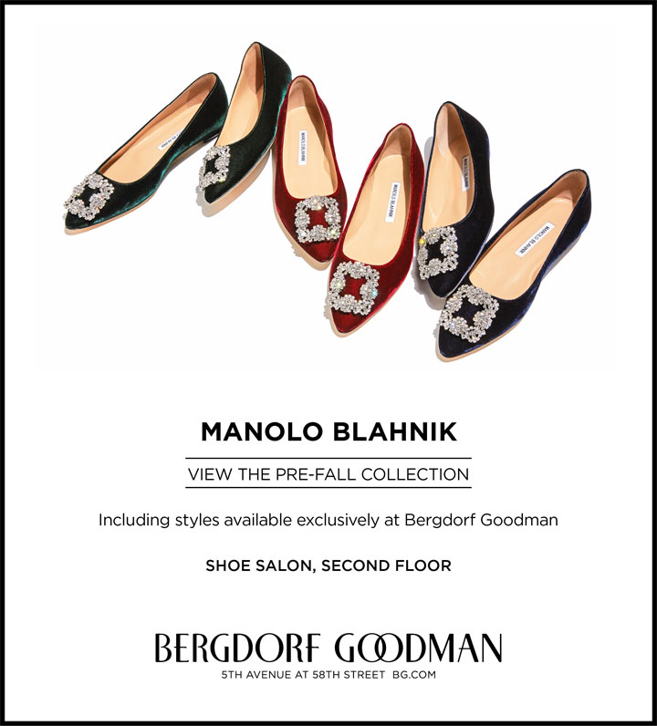 Manolo Blahnik Pre-Fall Collection Trunk Show