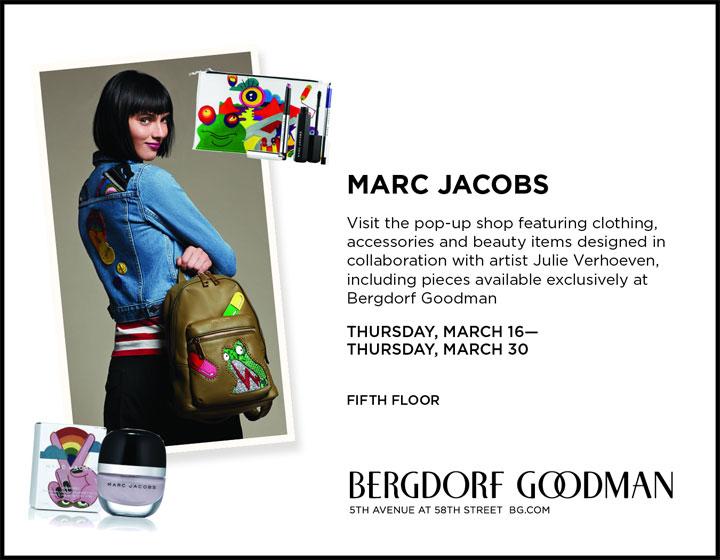 Marc Jacobs Pop-up Shop