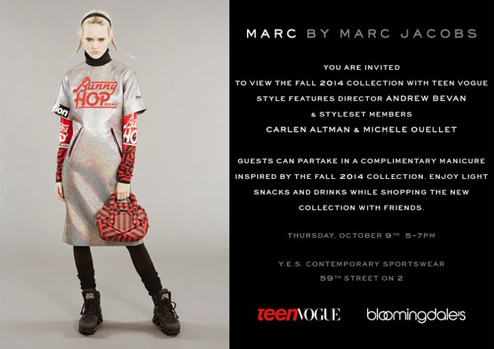 Marc by Marc Jacobs Fall 2014 Event