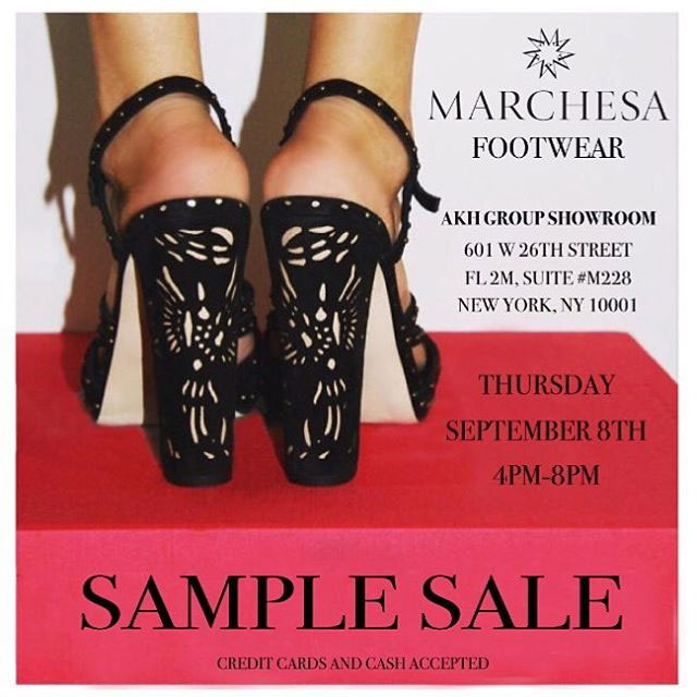 Marchesa Footwear Sample Sale