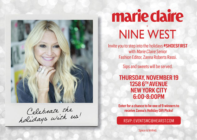 Marie Claire + Nine West Shopping Event