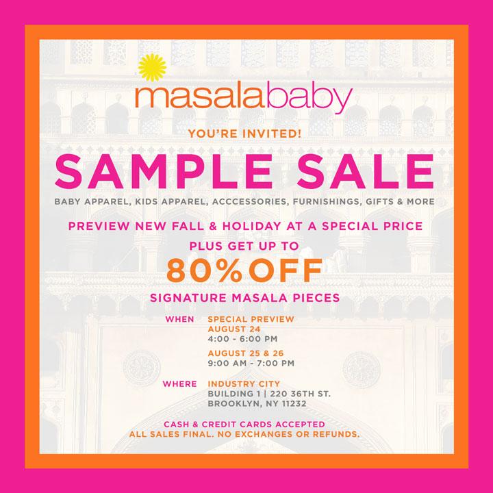 Masalababy Sample Sale