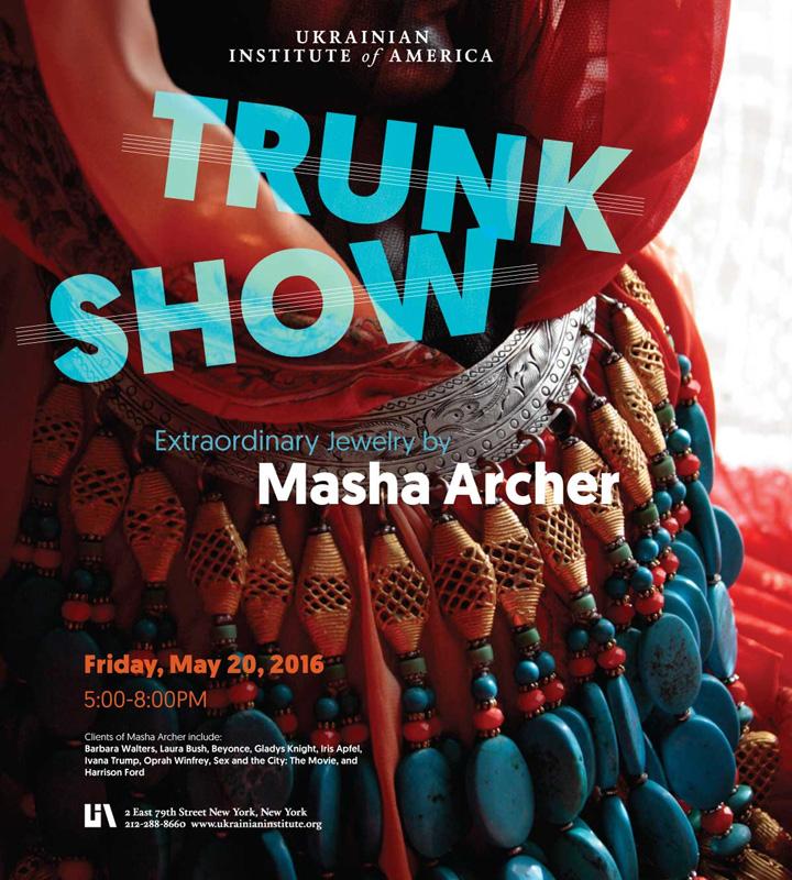 Masha Archer Jewelry Trunk Show