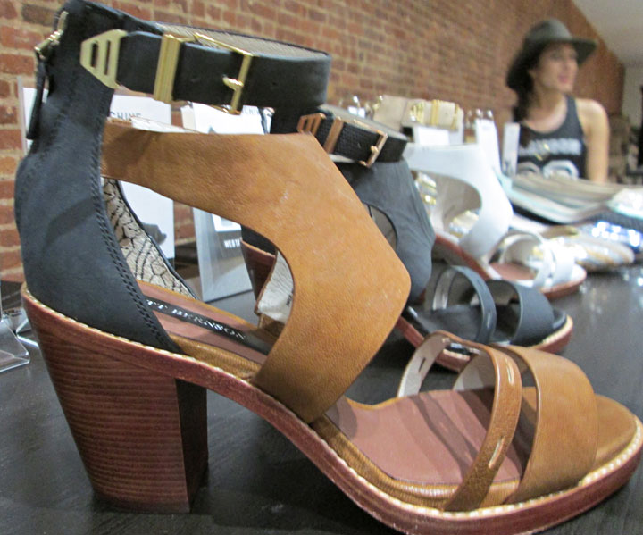 Harrison bootie sandals were on sale for $100 down from $290