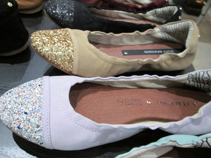 'Waverly' Cap Toe Flats in a multitude of colors